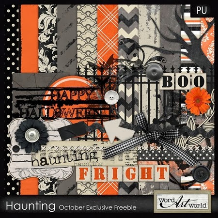 halloween freebie digiscrap kit