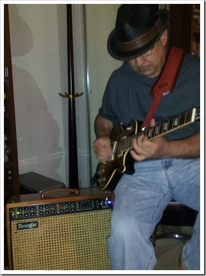 Bob with Mesa Boogie Mark V (001)