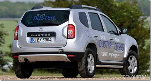 Dacia Duster Access UK 04