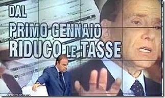 Foto repertorio, Berlusconi annunciava la riduzione delle tasse