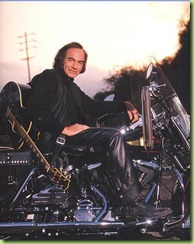 Neil Diamond Neil on his bike