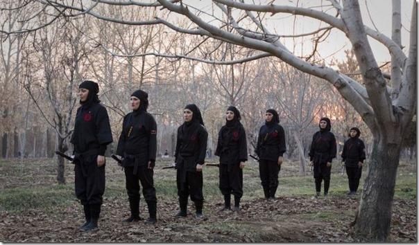 Mulheres iraquianas ninjas (8)
