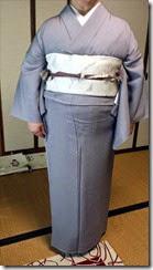 素敵な着物でお茶会にご出席 (2)