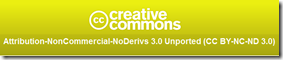 Creative Commons Attribution -No Derivatives License
