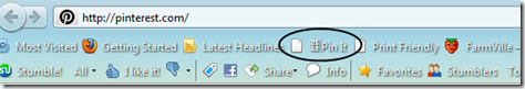 bookmarklet on toolbar
