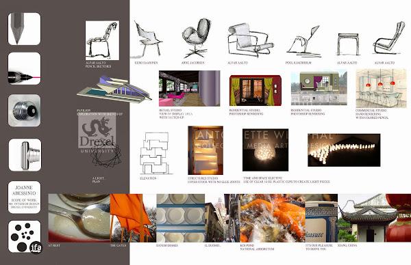 Graduate Portfolio By Joanne Abessinio Interior Design Portfolio