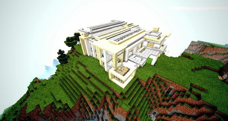 Mod para minecraft pe mapa casa moderna for Casa moderna minecraft pe 0 10 5