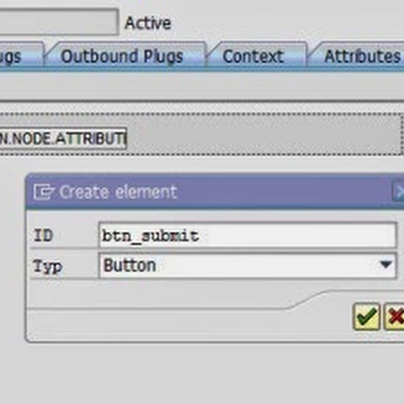 Reading the user input and setting the output