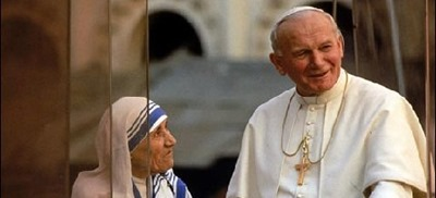 mother theresa and pope