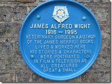 thirsk alf wight plaque
