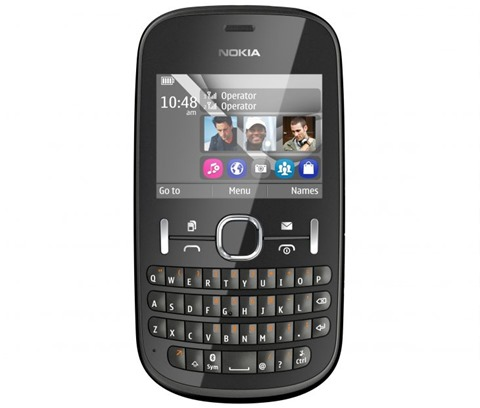 Nokia Asha 200, Black