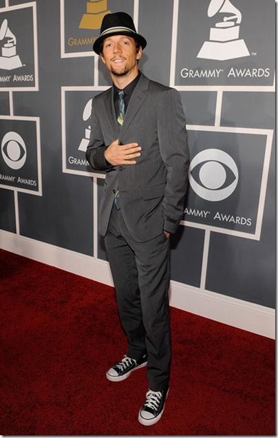 Jason Mraz - 2009 - 51st Annual Grammy Awards - Red Carpet
