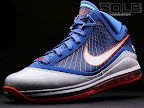 hardwood lebron7 blue 01 First Look at Nike LeBron X Low   Cavs Hardwood Classic?!