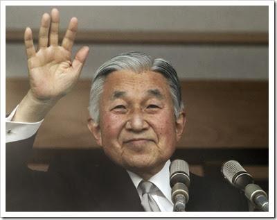 Imperador do Japão completa 80 anos