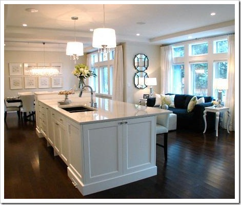 The Proper Distance From a Kitchen Island to the Top of a Pendant