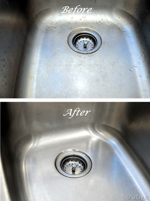 Safe and easy way to clean Stainless Steel appliances/sink