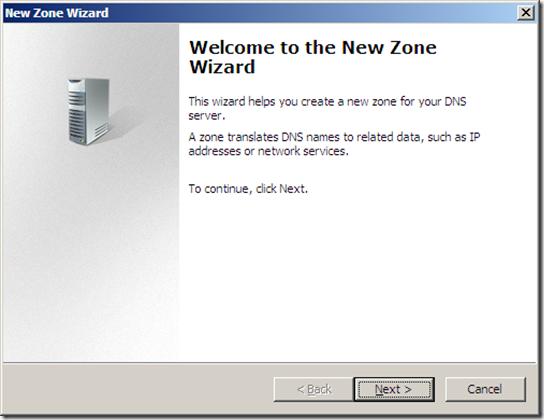 DNS ZONES CONFIGURATION (3)
