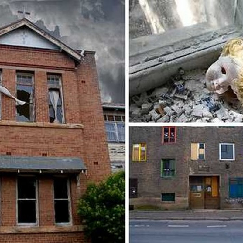 10 EERIE ABANDONED ORPHANAGES