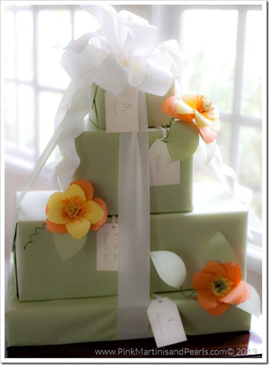 gift wrap bridal shower