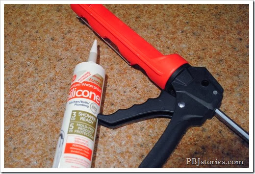 silicone caulk for kitchen countertop
