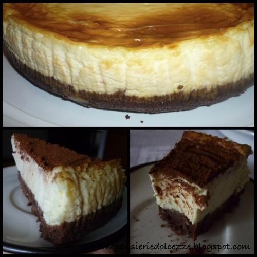 Cheesecake al cioccolato bianco 2