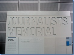 1542 Washington, D.C. - Newseum - Journalists Memorial