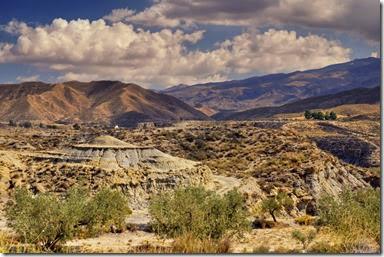 Desert Hills by  Jose Maria Cuellar