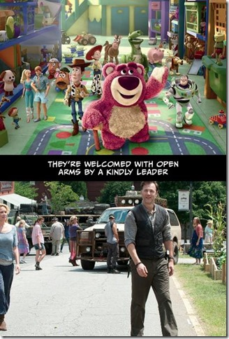Walking Dead v Toy Story 15