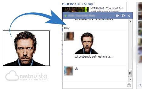Crear emoticono con mi foto para Facebook