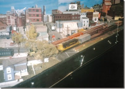 11 HO Scale Layout at the Triangle Mall in February 1997