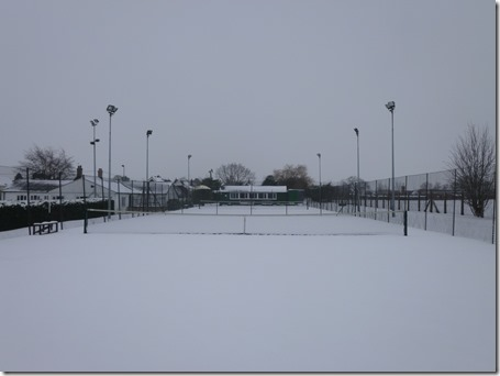 Wistaston in the snow (18-1-13) -  Wistaston Jubilee Tennis Club (3)