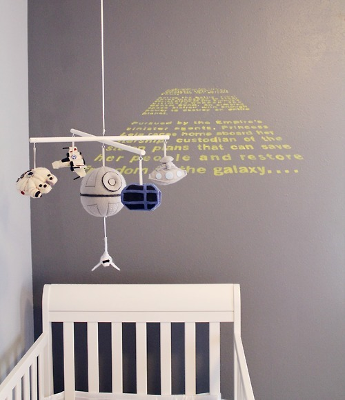 Star Wars Themed Nursery by Carissa XY