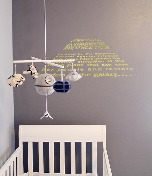 Star Wars Themed Nursery by Carissa XY