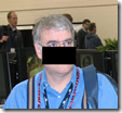 DearMYRTLE's photo of the Ancestry Insider at RootsTech 2011