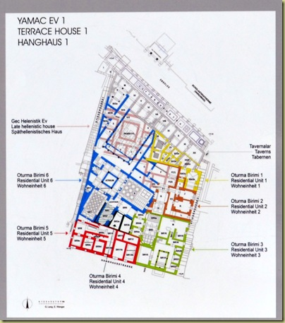 Plan of house block