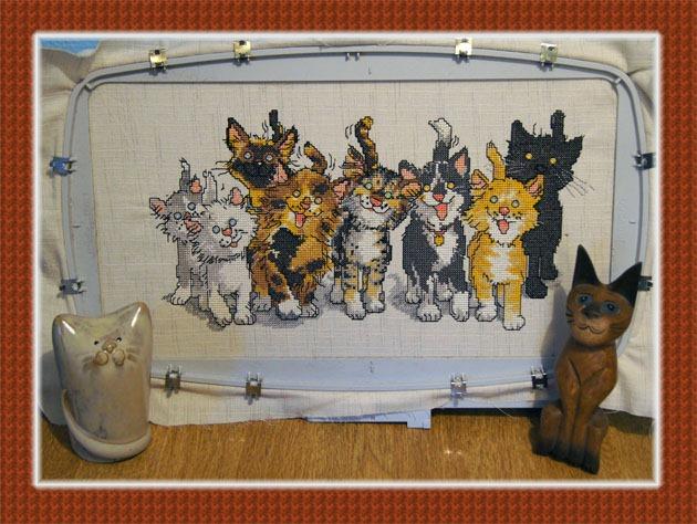 5D Cross Stitcher, CATS