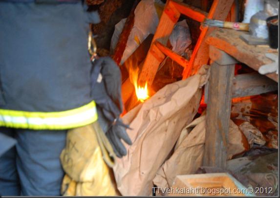 24H palomiehenä ulkorakennuksen polttaminen 008