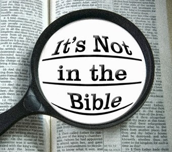 Its Not in the Bible