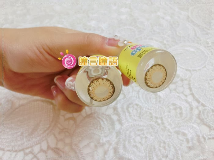 韓國GEO隱形眼鏡-GEO Eyes Cream 霜淇淋咖003