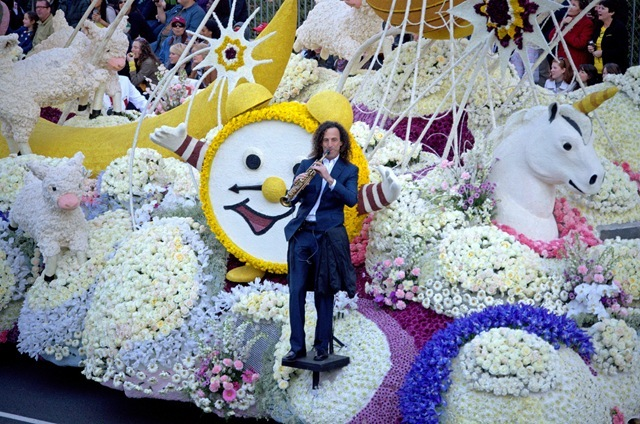 kenny g rose parade