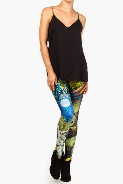 Where the Wild Things Are Leggings from Poprageous