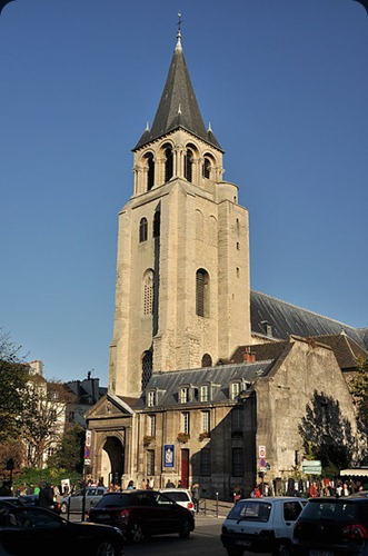 Paris Abbey_of_Saint-Germain-des-Prs