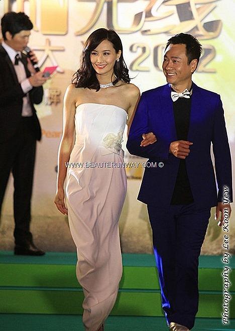 STARHUB TVB AWARDS 2012 CHEN FALA  陳法拉 WAYNE LAI 黎耀祥 LINDA CHUNG MOSES CHAN HONG KONG CELEBRITIES WINNERS KEVIN CHENG  MYOLIE WU SUNNY CHAN RUCO KATE TSUI TAVIA YEUNG GRASSHOPPER KENNETH MA KENNY WONG SELINA LI MARINA BAY SANDS