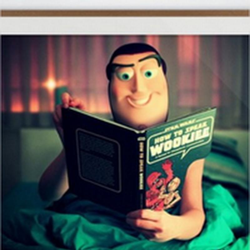 Curiosas fotografías vintage de personajes de Toy Story y Star Wars