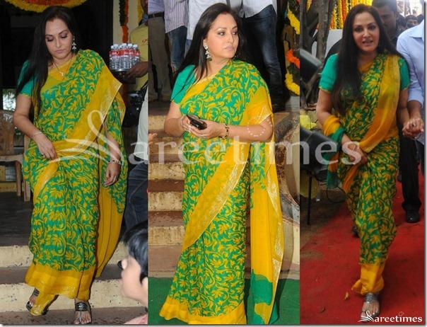 Jayaprada_Green_Saree