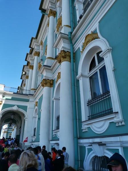 Intrare Ermitaj