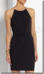 Michael Michael Kors Knot Front Halter Dress