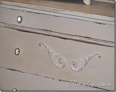 Moonlight white dresser AFTER 2