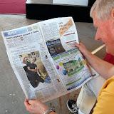 """2011 Dixie Classic Fair - """"Bowzer"""" visits WBFJ - 10-7-11"""