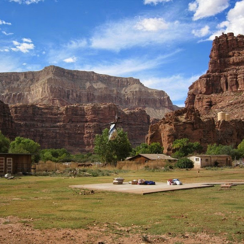 Supai: An Isolated Indian Village Inside the Grand Canyon